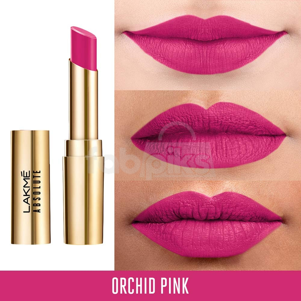 Absolute Matte Ultimate Lip Color with Argan Oil-Orchid Pink + Petal Pink | MRP Rs. 1600