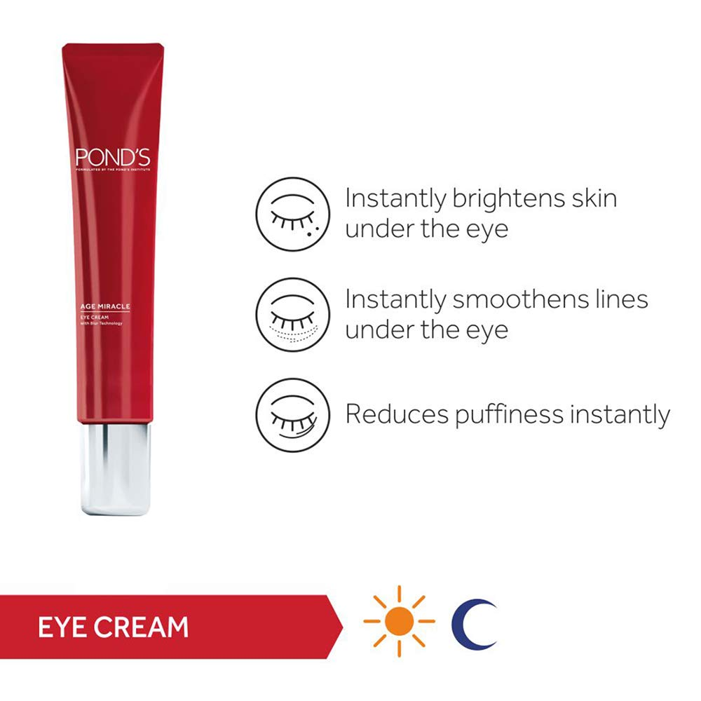 POND'S Age Miracle Eye Cream | 15 g | MRP Rs. 699