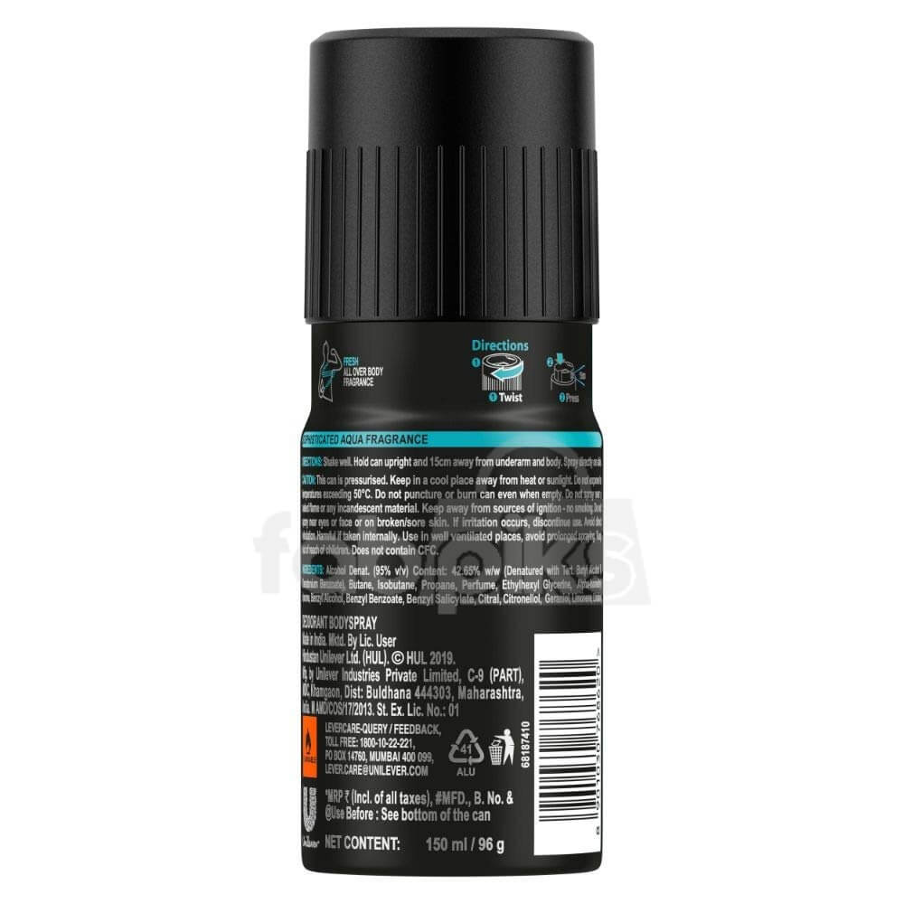 Axe Recharge Marine Splash Long Lasting Deodorant For Men 150 ml | MRP: Rs. 230