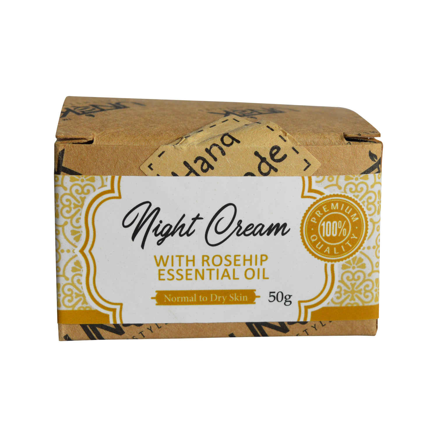 Handcrafted Night Cream (with Rosehip essential oil) | MRP: Rs.1199