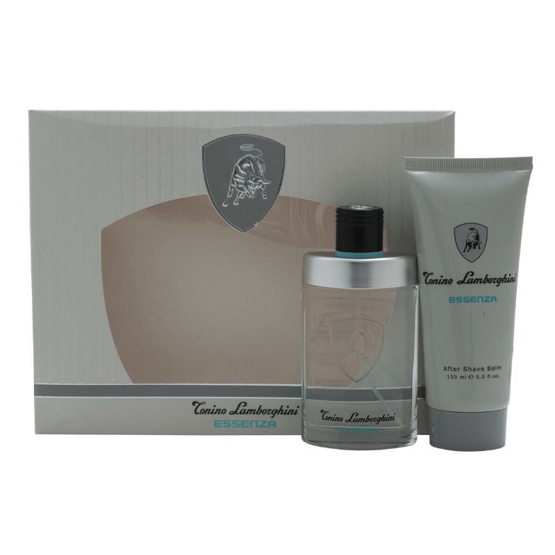 Tonino Lamborghini ESSENZA EDT Gift Set Combo For Men | Eau De Toilette Perfume Spray 75 ml | After Shave Balm 150 ml