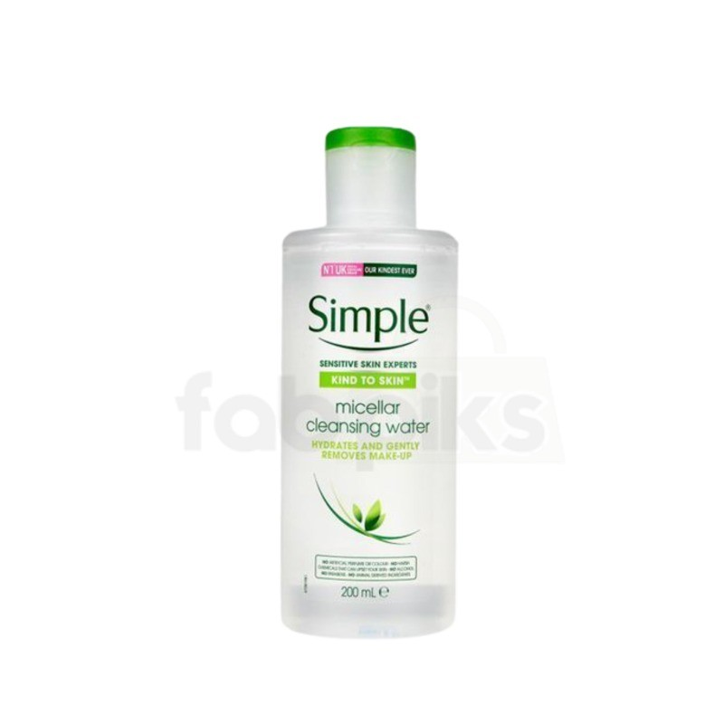 Simple Kind to Skin Micellar Cleansing Water 200 ml | MRP: Rs. 375