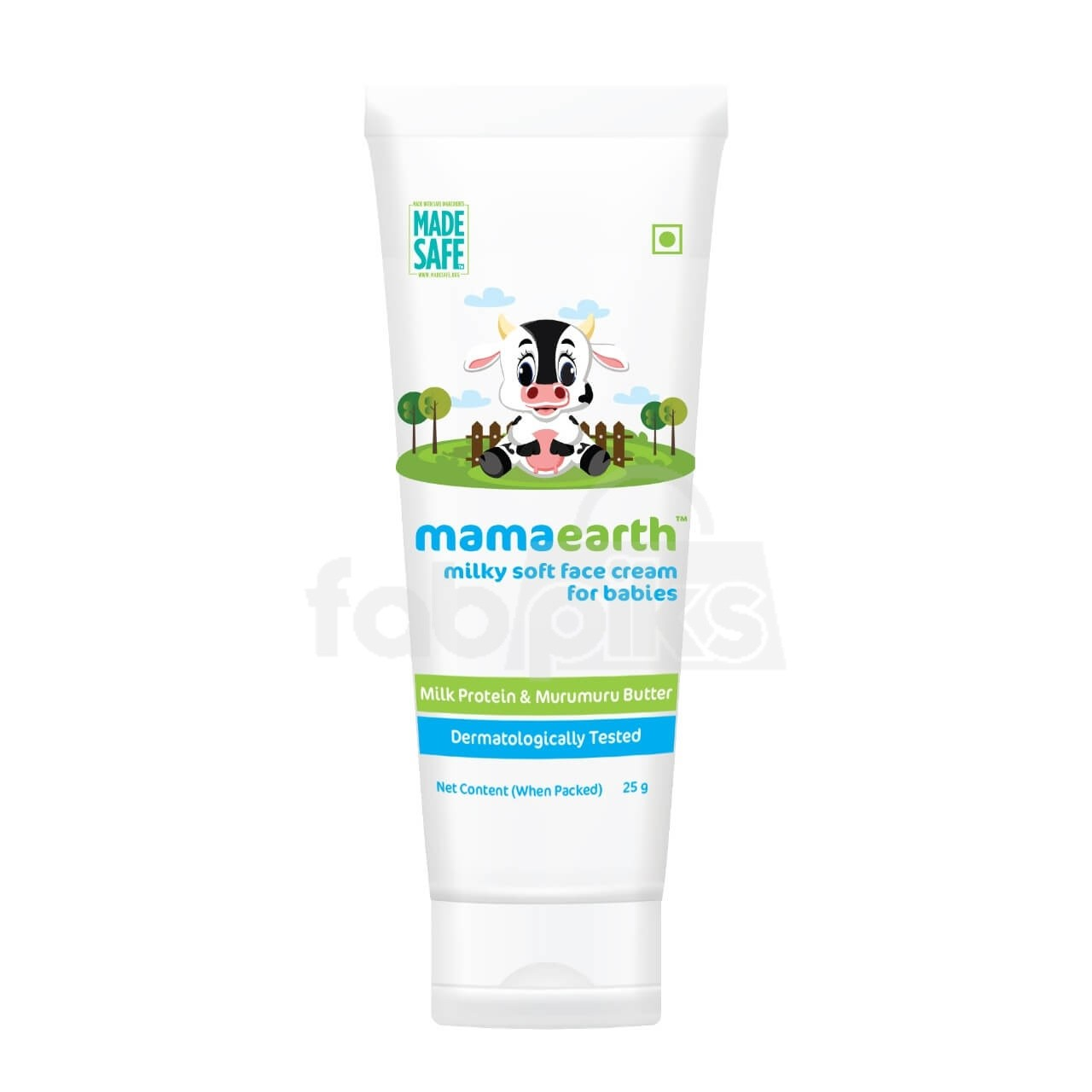 Milky Soft Face Cream With Murumuru Butter for Babies
