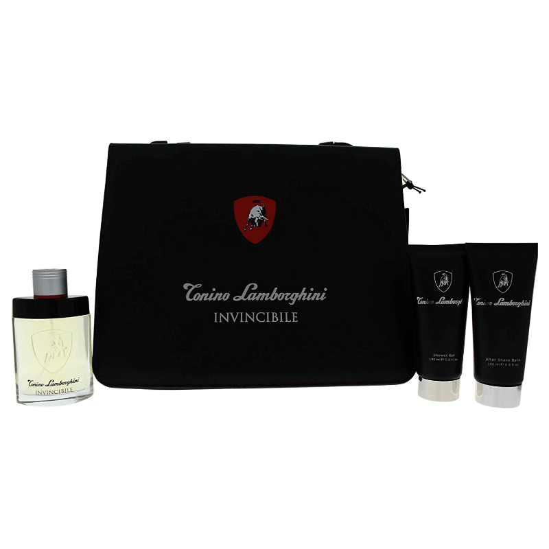 Invincibile FOLIO Gift Set For Men | Eau De Toilette Perfume 125 ml | Shower Gel 150 ml | After Shave Balm 150 ml