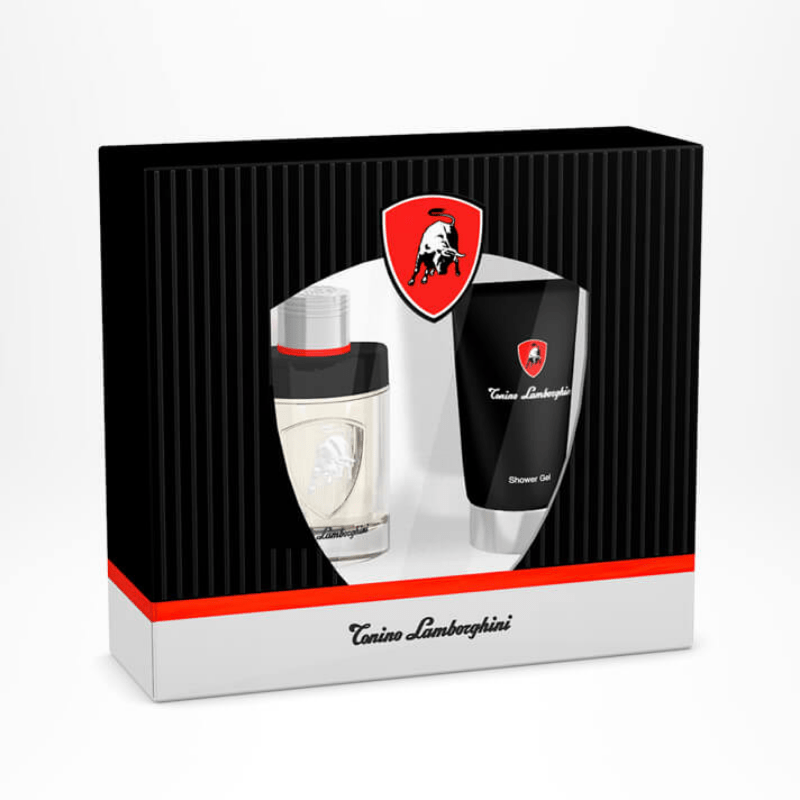 Lamborghini Invincible 2 Piece Widow Box | Eau De Toilette Perfume 75 ml | Shower Gel 150 ml
