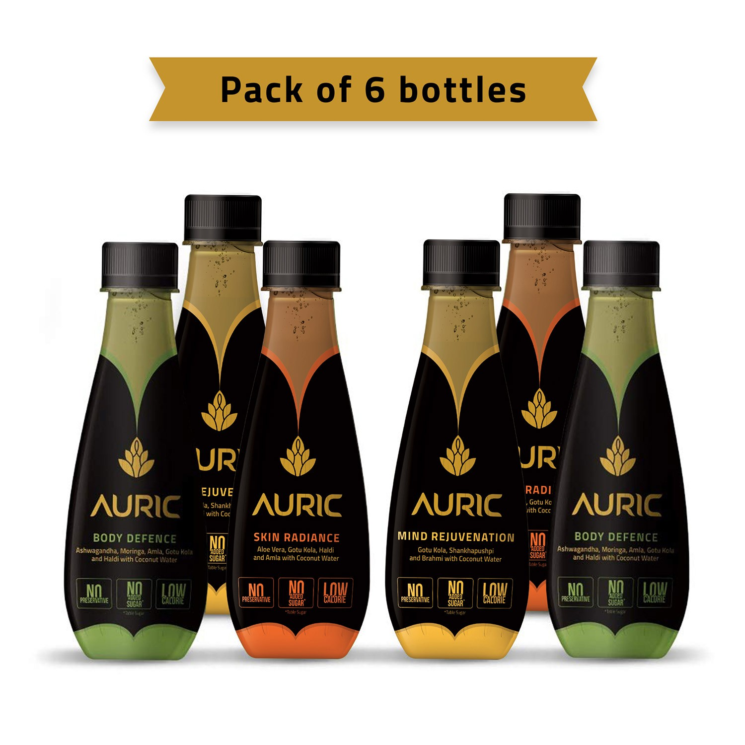 Auric Beauty & Wellness Beverage - Weekly Pack