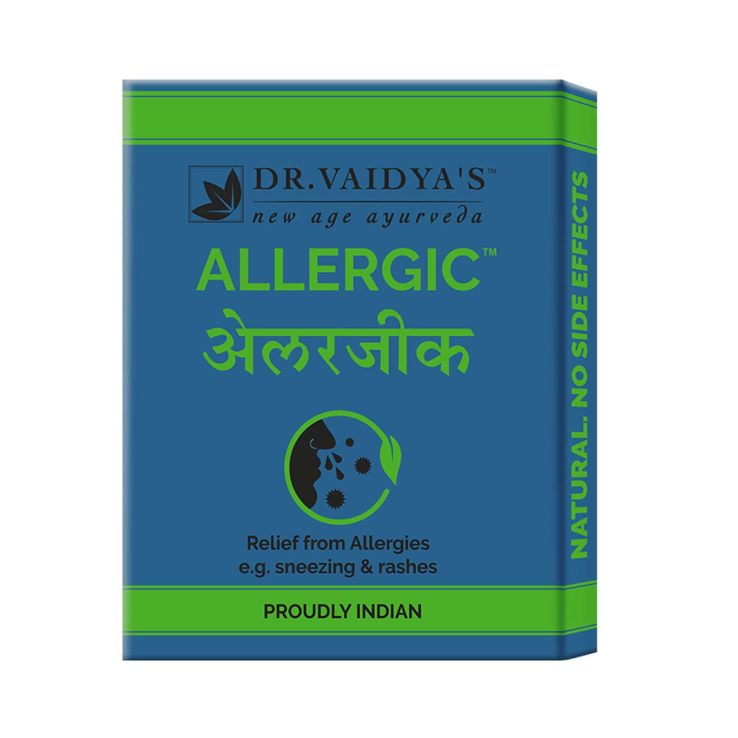 Dr. Vaidya's Allergic Pills - Ayurvedic Treatment for Allergy & Cold - Pack of 3
