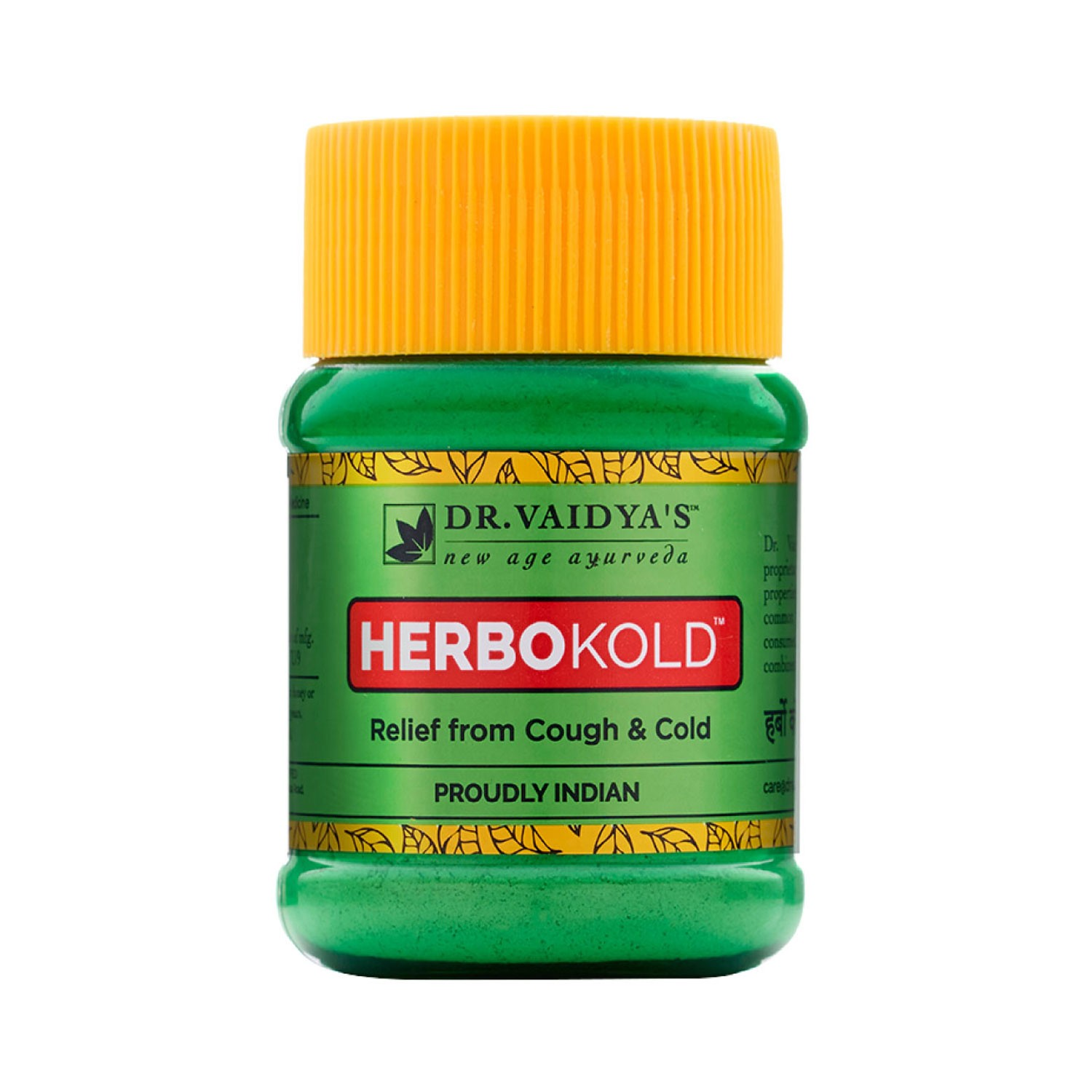 Dr. Vaidya's Herbokold Powder - Ayurvedic Treatment Cold & Cough - Pack of 2