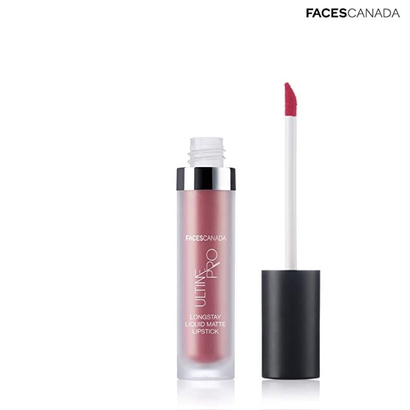 Faces Canada Ultime Pro Longstay Liquid Matte Lipstick Sunset Coral