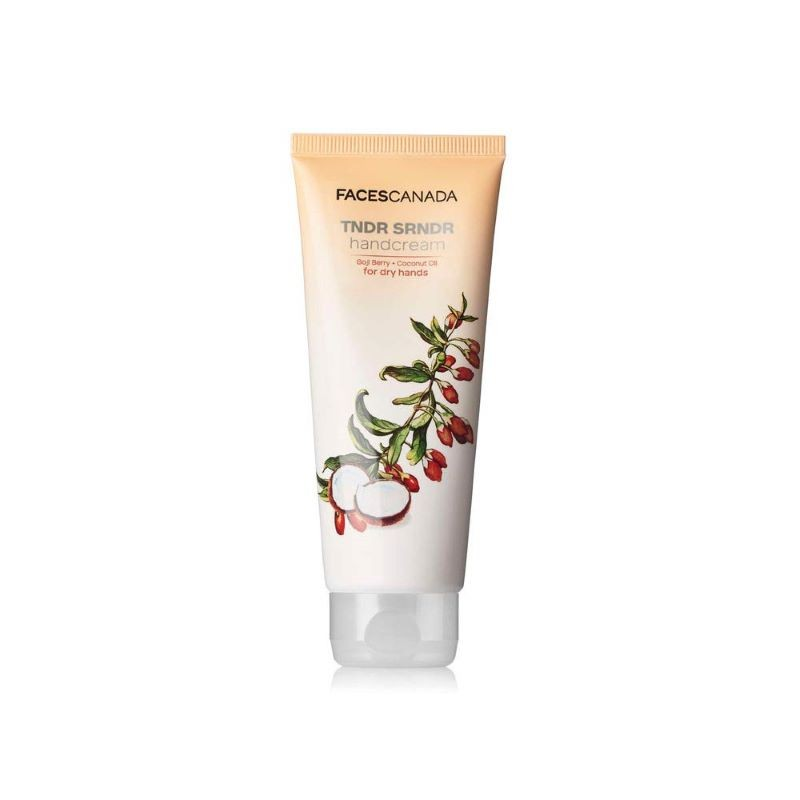 Faces Canada Tndr Srndr Hand Cream Goji Berry + Coconut Oil For Dry Hands
