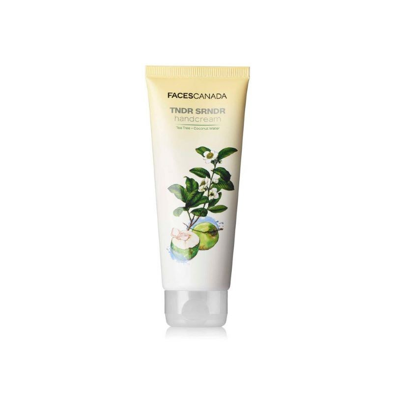 Faces Canada Tndr Srndr Hand Cream Tea Tree + Coconut Water