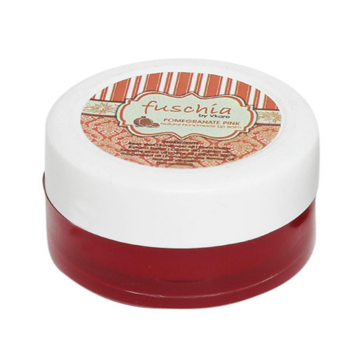 Pomegranate Pink Lip Balm