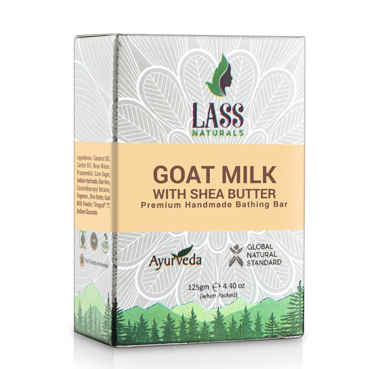 Goat Milk with Shea Butter Handmade Premium Bathing Soap