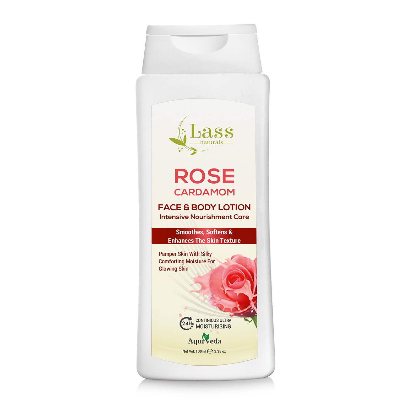 Rose Cardamom Face & Body Moisturising Lotion