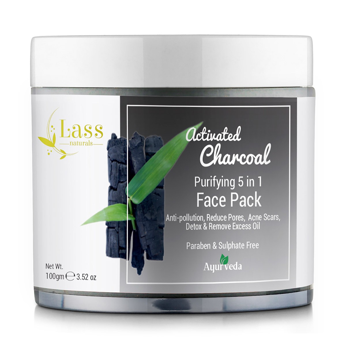 Activated Charcoal 5-in-1 Purifying Face Pack