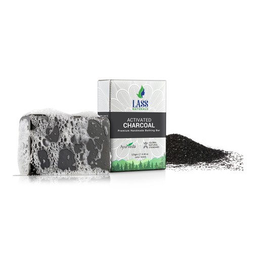 Activated Charcoal Handmade Premium Bathing Soap