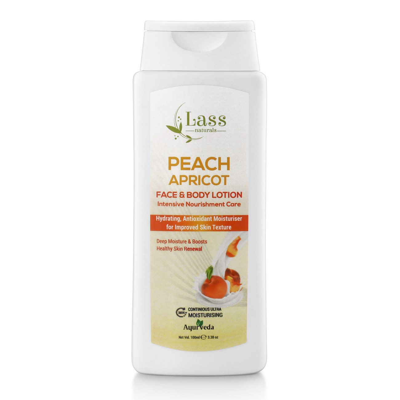 Peach & Apricot Face & Body Moisturising Lotion