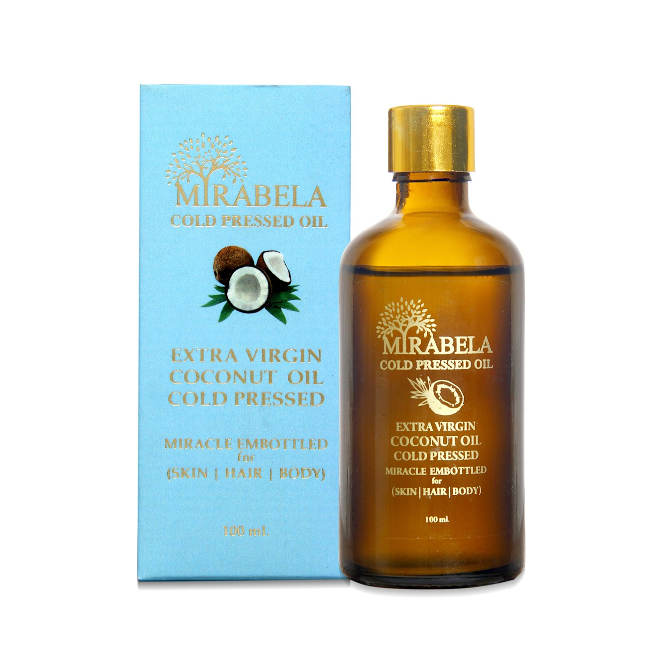 Virgin Coconut Oil - Cold Pressed Oil 100 ml