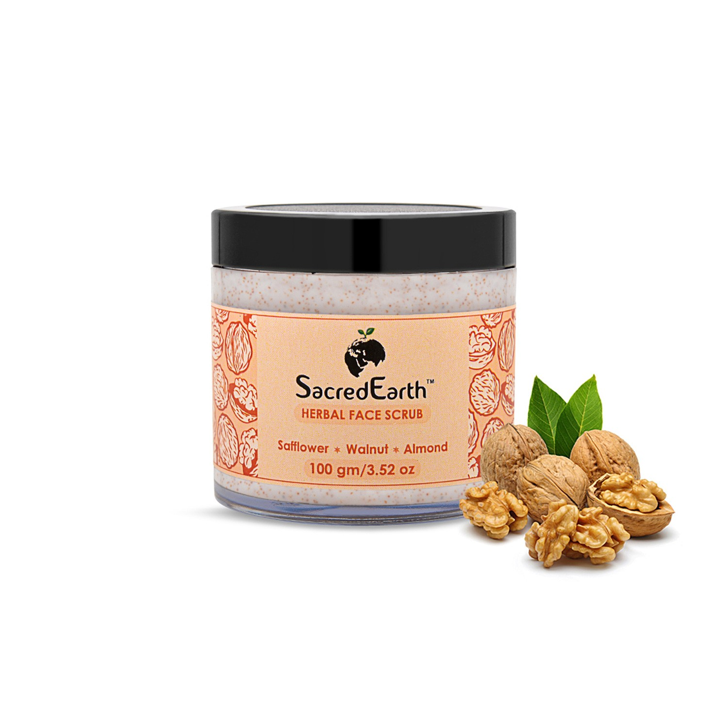 Herbal Face Scrub Dead Skin Remover & Revitalises Skin