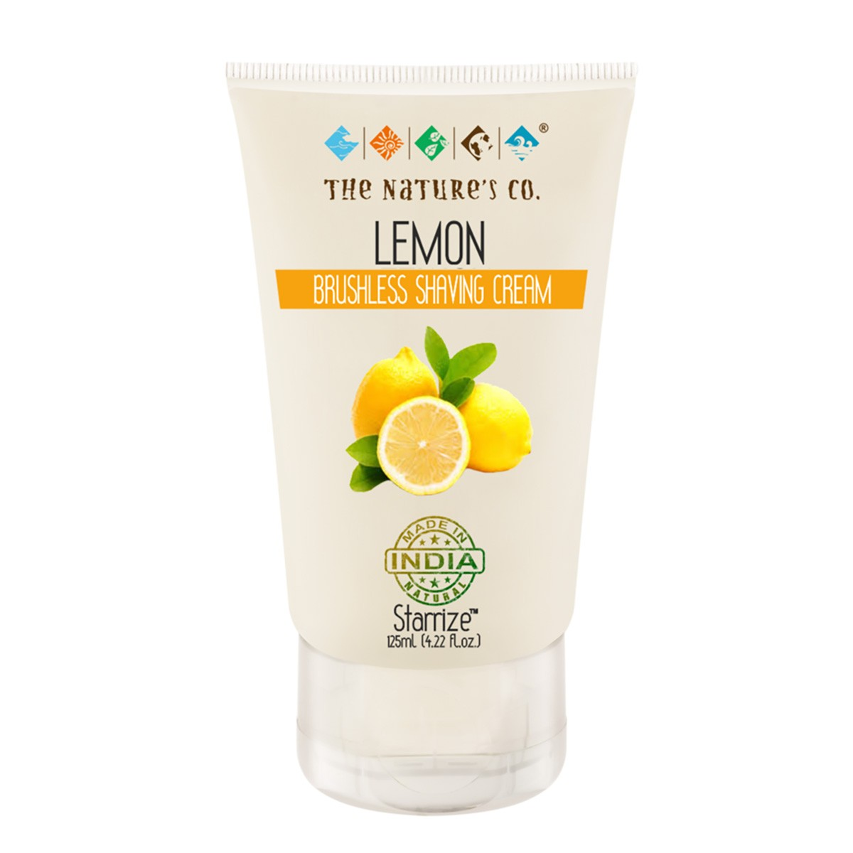 Lemon Brushless Shaving Cream