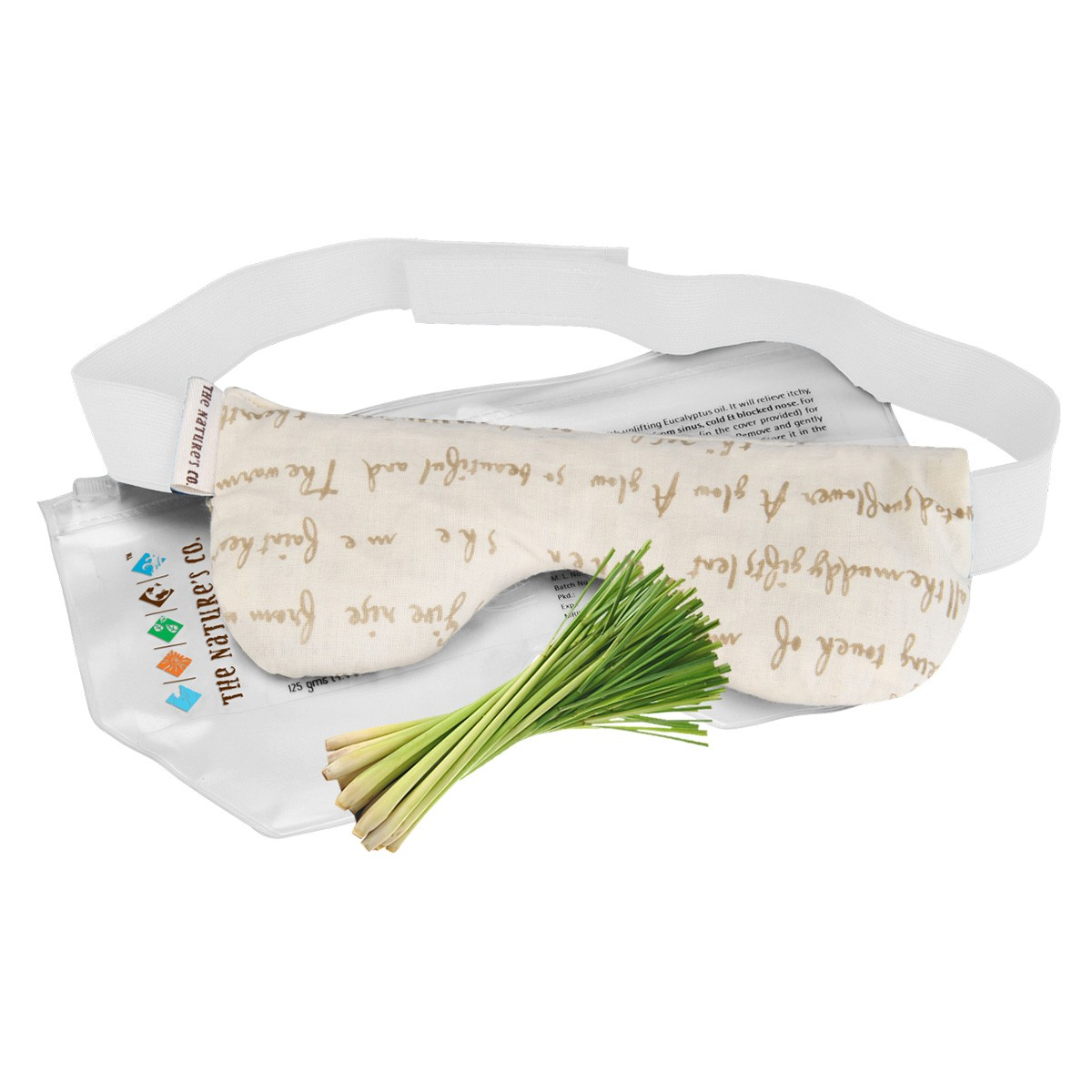 Lemongrass Eye Pillow with Band