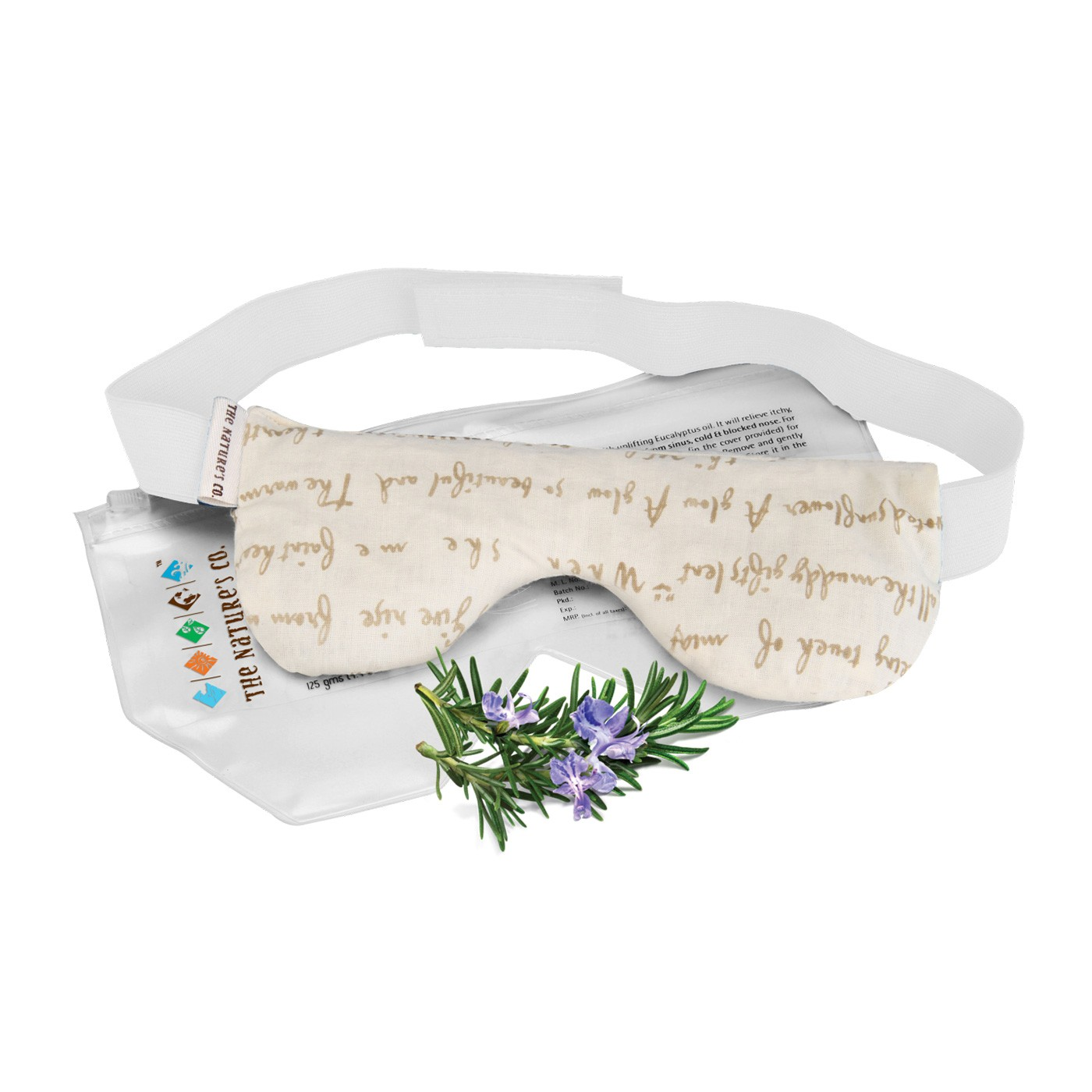 Rosemary Eye Pillow with Band