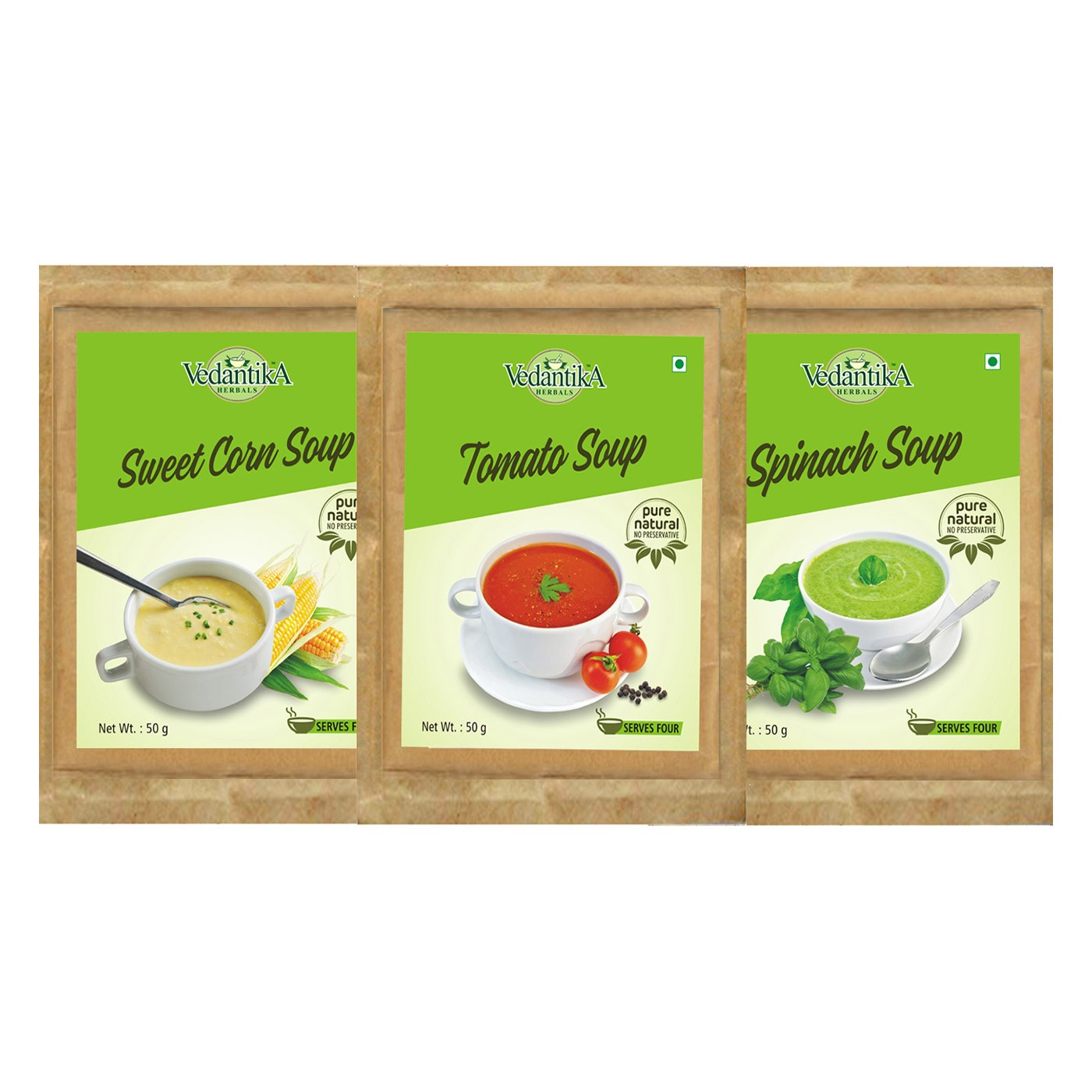 Healthy Mixed Soup (Tri Pack)