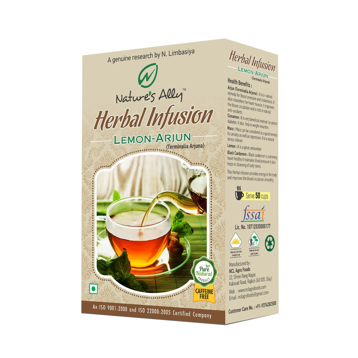 Arjun Lemon Herbal Infusion