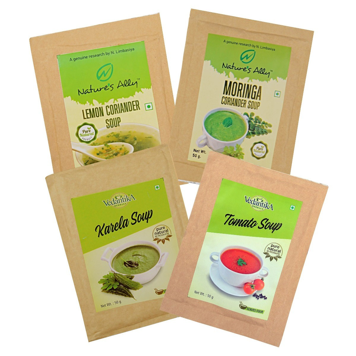 Detoxifying Soups (Set of 4)
