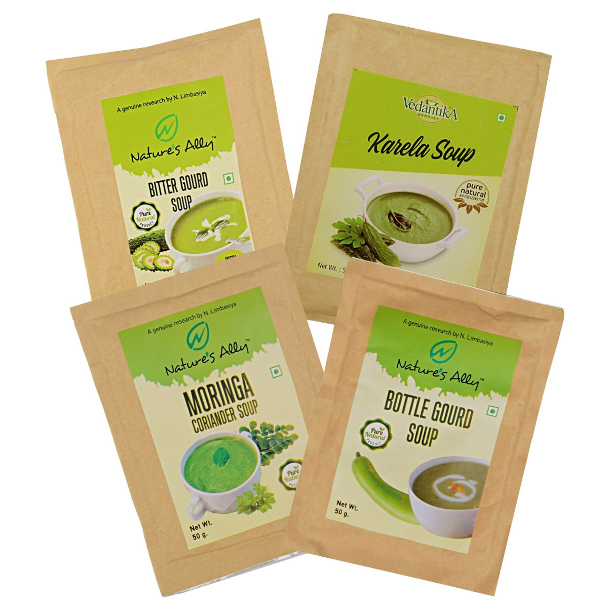 Diabetic Soups (Set of 4)