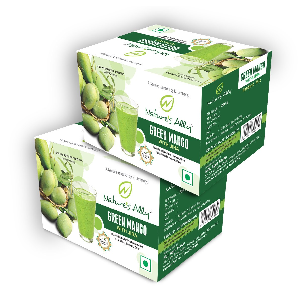 Green Mango Drink (Combo Pack)