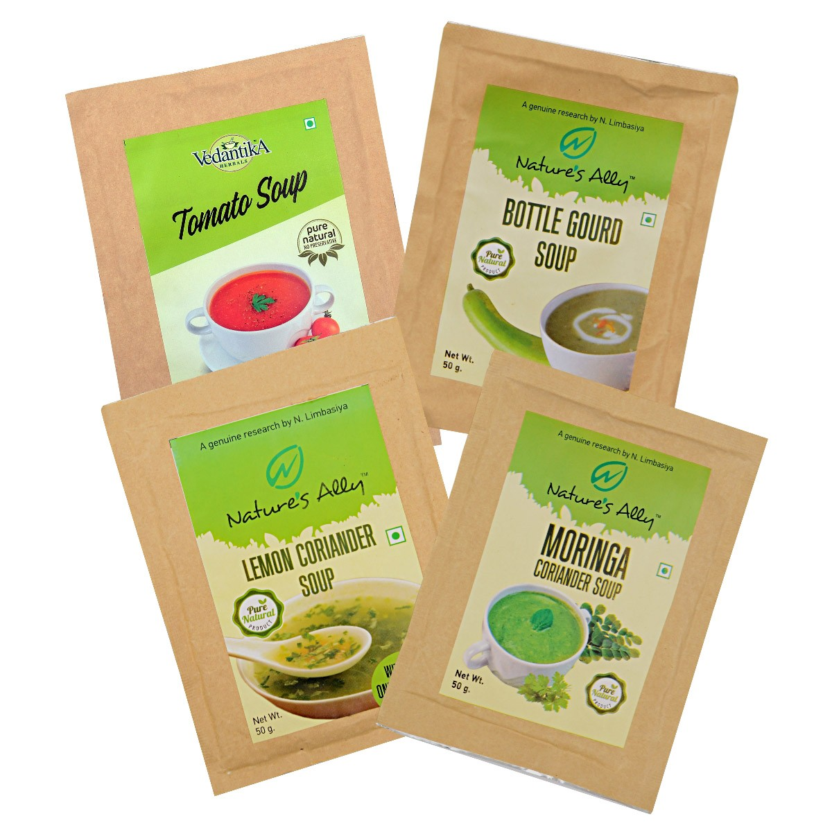Slimming Soups (Pack of 4)