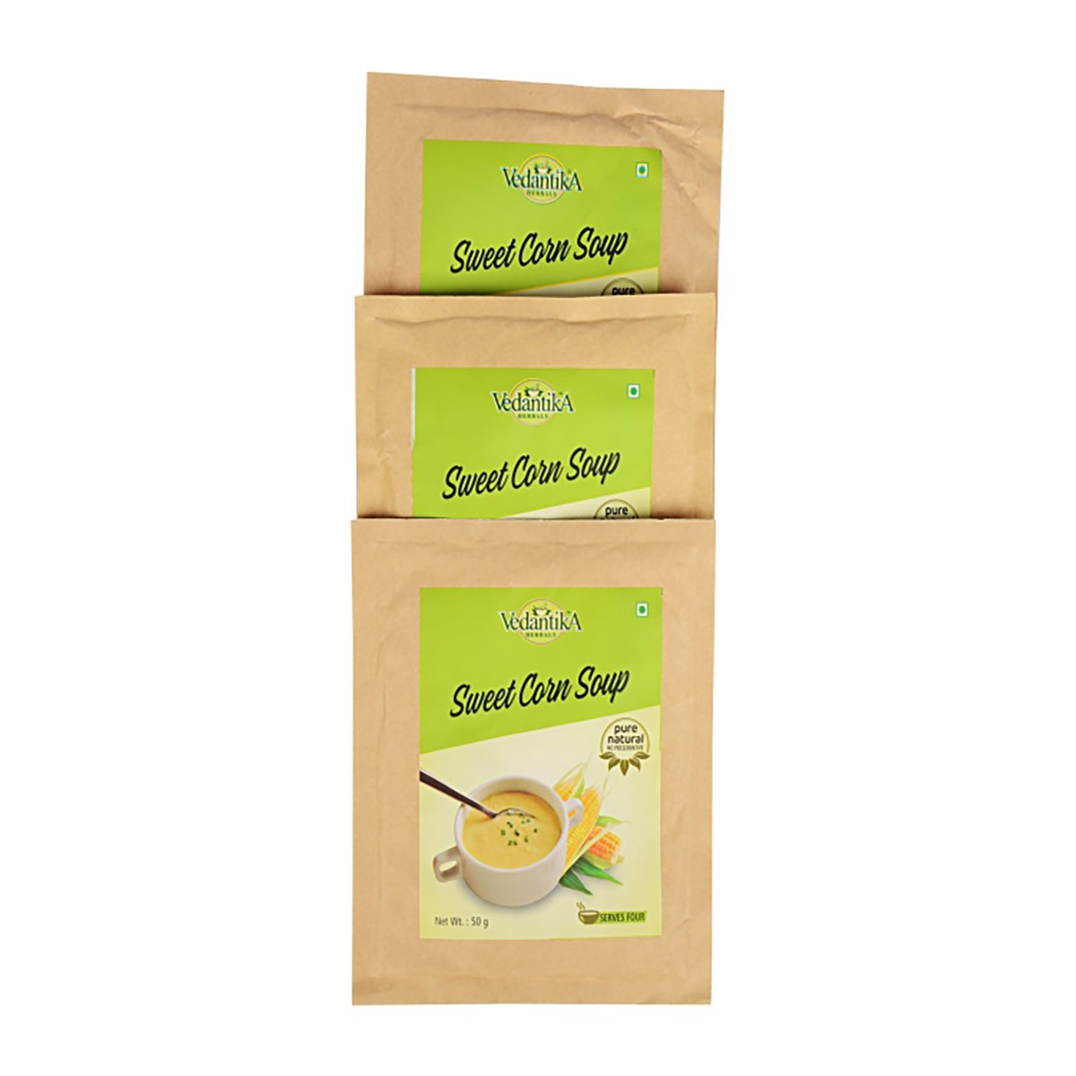 Instant Sweet Corn Soup (Tri Pack)