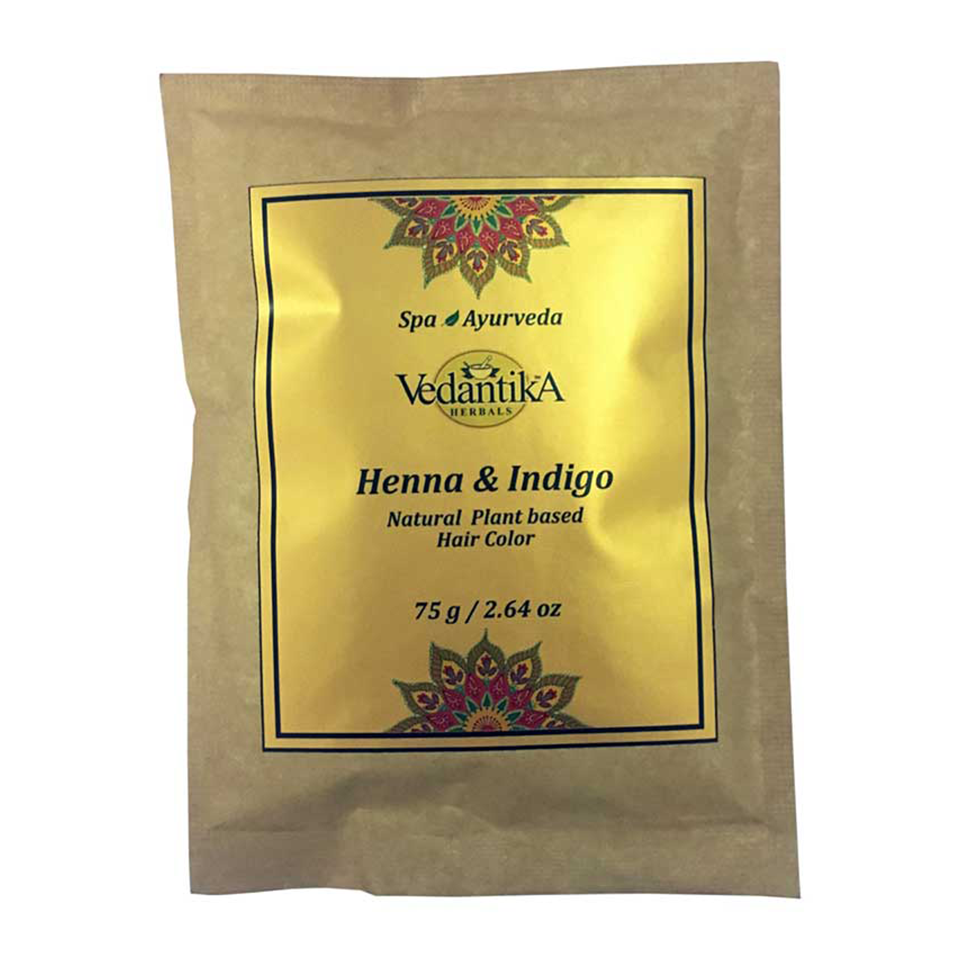 Henna & Indigo Hair color (Pack of 2)