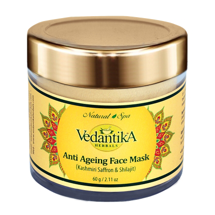 Anti Ageing Mask (with Saffron and Shilajit)