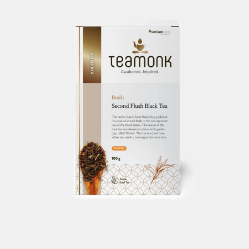 Teamonk Bodh Second Flush Black Tea