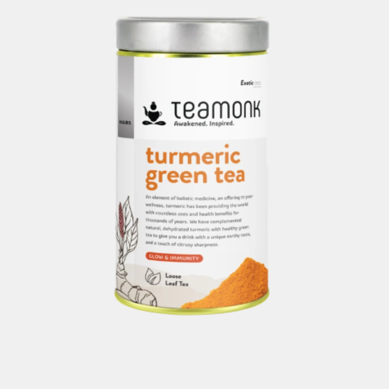 Teamonk Turmeric Green Tea