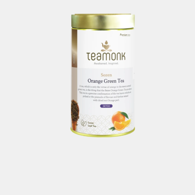 Teamonk Orange Green Tea