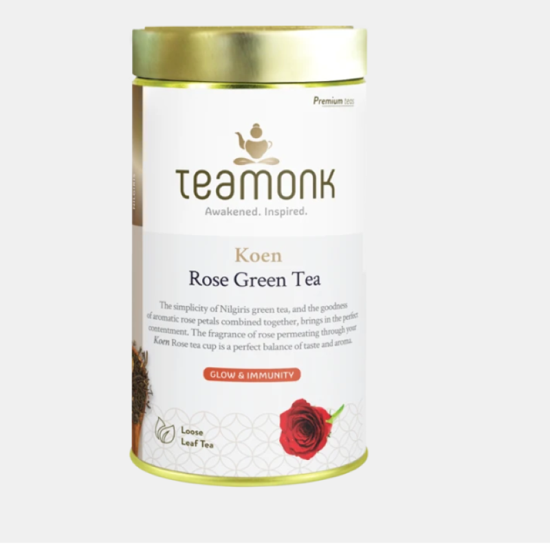 Teamonk Kozan Rose green Tea