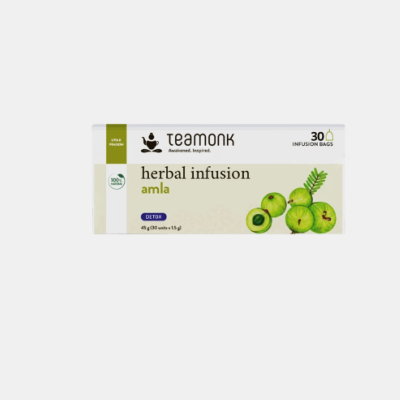 Teamonk Herbal Infusion Amla Mint Tea