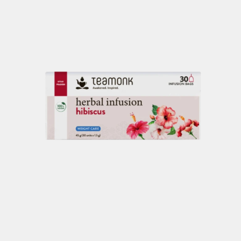 Teamonk Herbal Infusion Hibiscus Tea