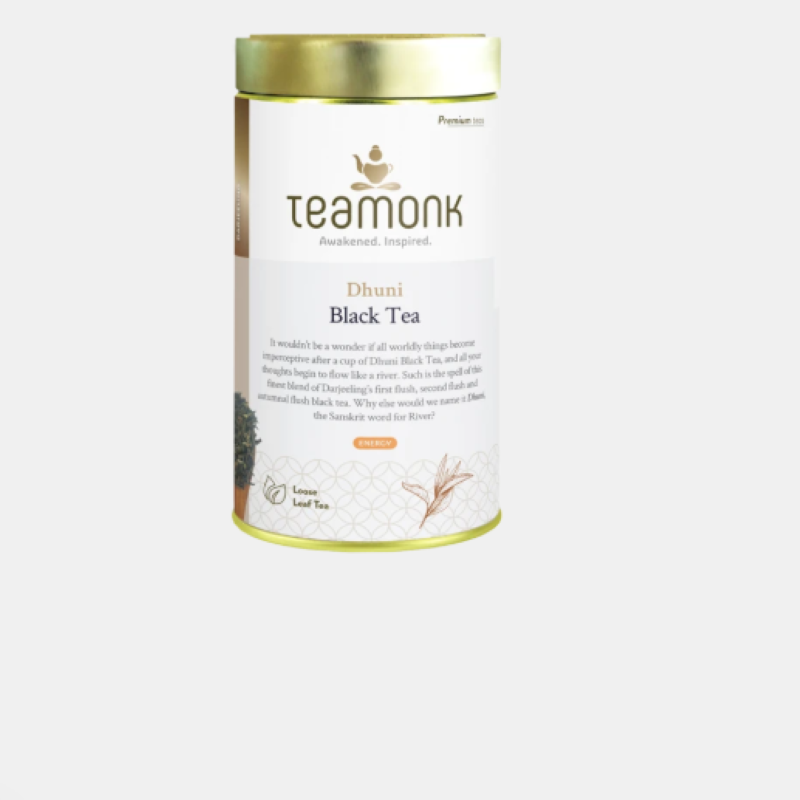 Teamonk Dhuni Black  Tea