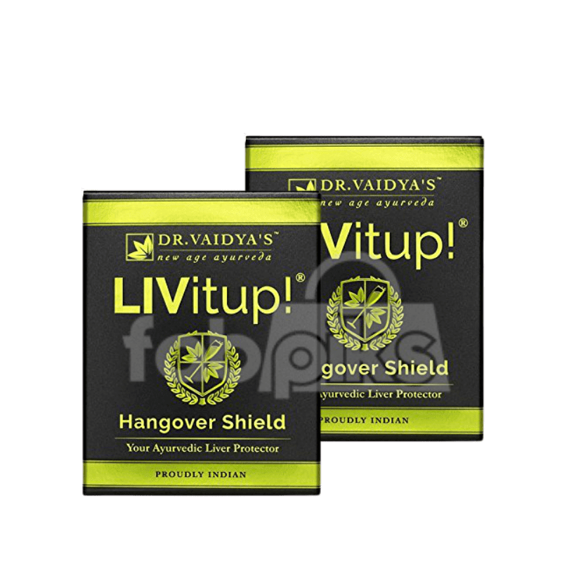 Livitup! - Hangover Shield and Liver Protector | Pack of 2 | MRP: Rs. 160