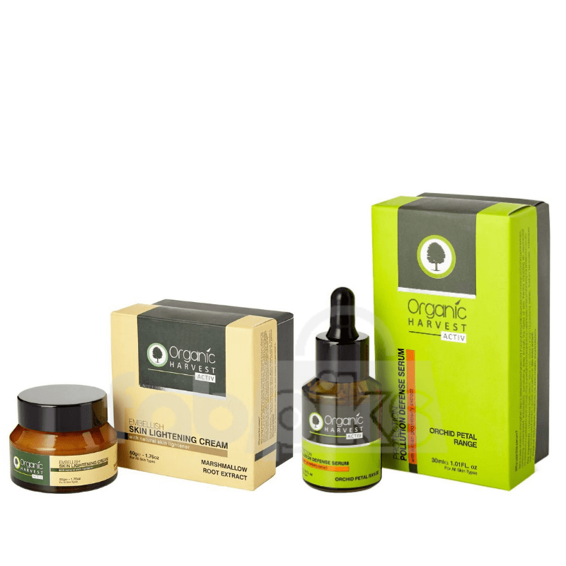 Organic Harvest Skin Care Routine Kit | MRP: Rs. 2390