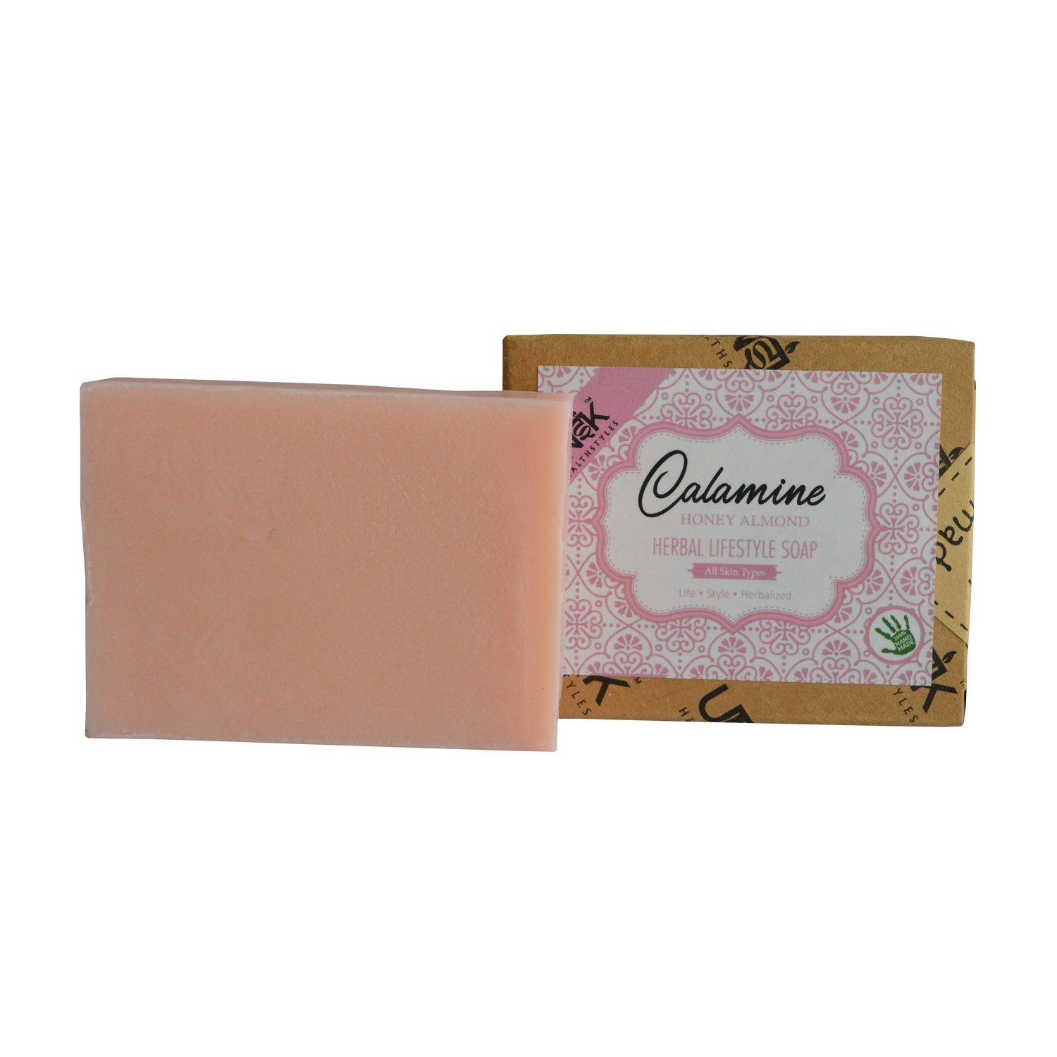 Calamine Honey Almond Soap (Jasmine) | MRP: Rs.99