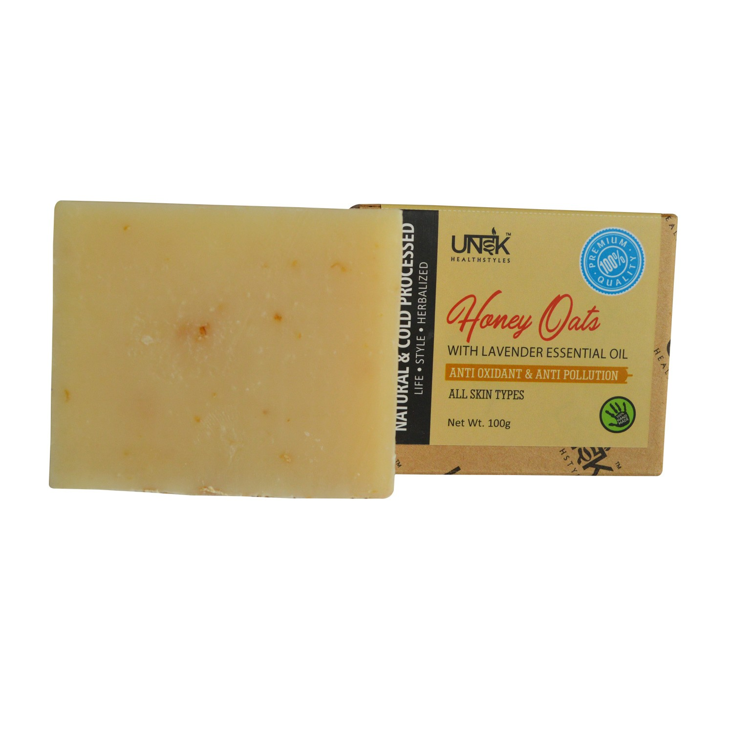 Handcrafted Honey & Oats Soap | MRP: Rs.249
