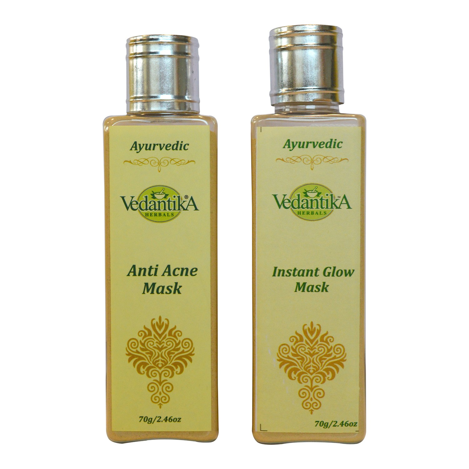 Anti Acne Mask & Instant Glow Mask Combo   MRP: Rs. 500