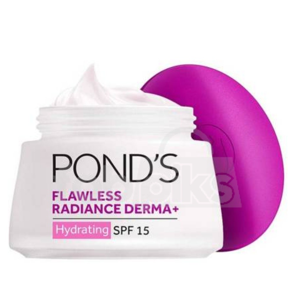 Pond's SPF15 PA++ Flawless Radiance Derma+ Hydrating Day Gel | MRP Rs. 679