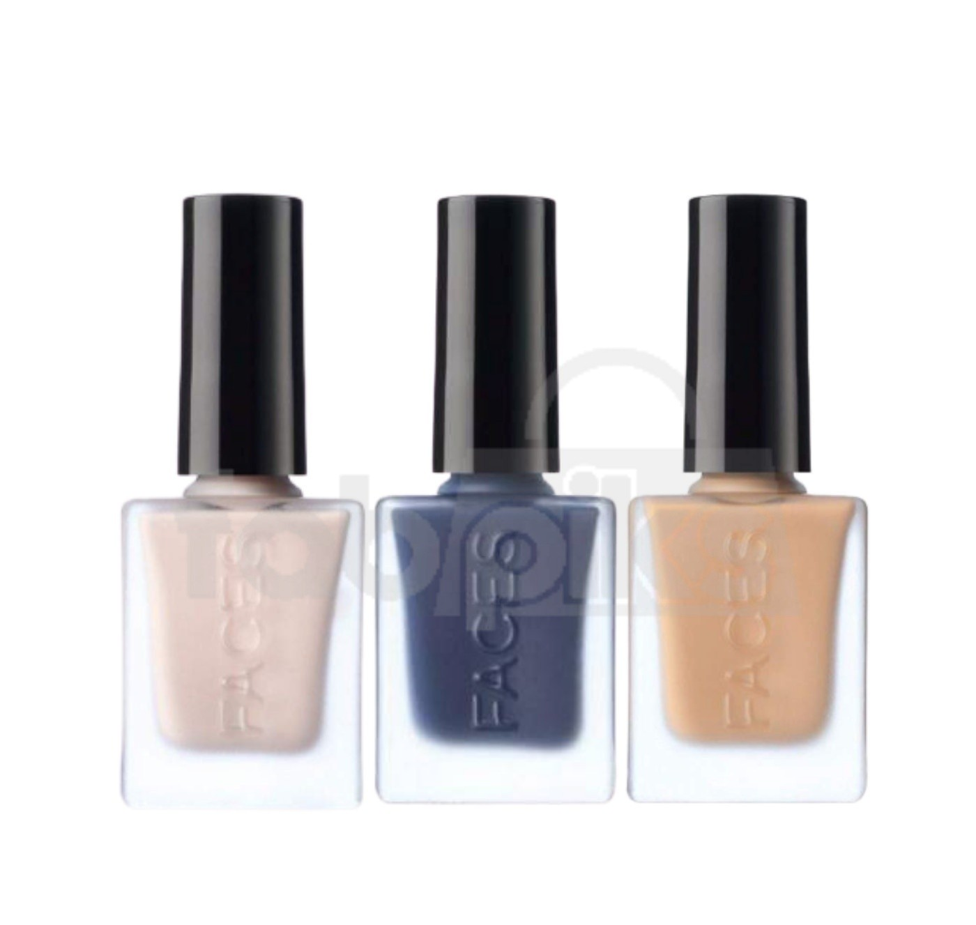 Matte Nail Enamel - Assorted Shades set of 3  | MRP Rs. 825