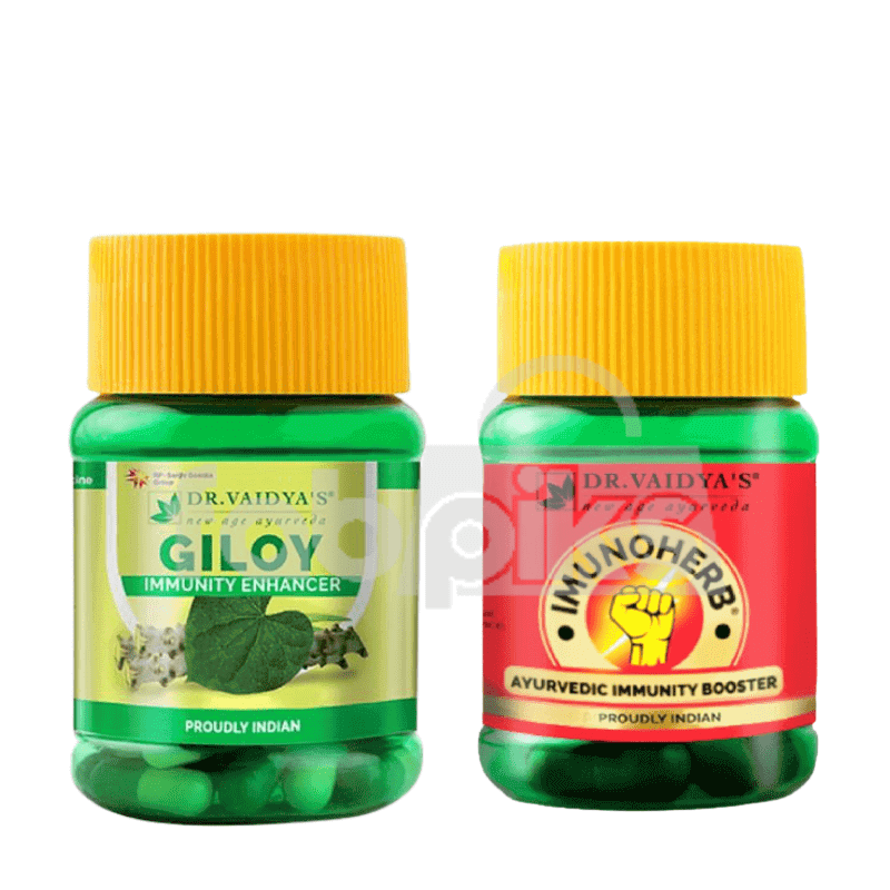 Imunoherb: Immunity Booster Capsules | Giloy Capsules | MRP: Rs. 330